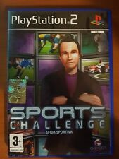 SPORTS CHALLENGE - PLAYSTATION 2 PS2 USATO