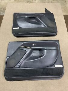 99 - 02 Chevrolet Silverado GMC Sierra Tahoe Yukon Pair Door Panels 'READ' OEM