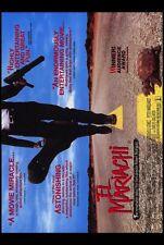 EL MARIACHI Movie POSTER 27x40 B Carlos Gallardo Consuelo Gomez Peter Marquardt