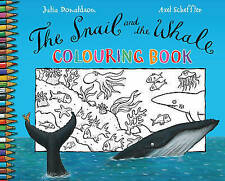The Snail and the Whale Colouring Book, Julia Donaldson, New Book RRP £3.99