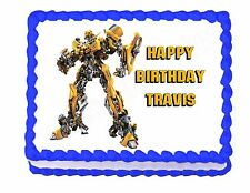 Transformers edible cake image cake topper decoration party decoration