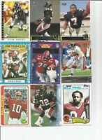1970-2004 FOOTBALL ATLANTA FALCONS 225+ CARD LOT