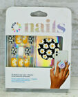 PopSockets Popgrip Nails  Black with Daisy Flower Pop with Matching Fingernails