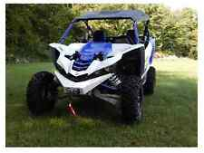 Axiom Side By Side GLOSS WHITE Yamaha YXZ 1000R Front Bumper and Winch Mount