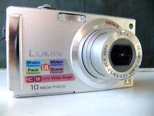 panasonic dmc-fs5 digital camera silver.