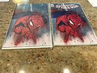 Amazing Spider-Man #46 - Peach Momoko Variant Set - 2X Trade Dress + Virgin