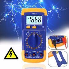 700V Digital  Clamp Multimeter Voltmeter Ammeter OHM AC/DC Volt Tester Detector