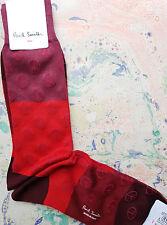 Paul Smith Hommes italienne Chaussettes gradient de paix de Damas Multi K324 Taille cottonmix