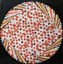 Daiso Japanese Sakura Yuzen Origami Chiyogami Paper 14.5cm 10 Patterns 20pcs