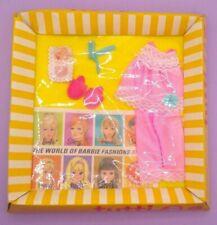 Vintage Barbie Tutti Pink Pajamas #3616 Complete NRFB