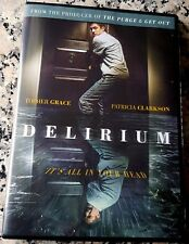 DELIRIUM Supernatural Thriller DVD Topher Grace Patricia Clarkson Purge Get Out