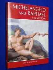 Rare! Michelangelo and Raphael in the Vatican Bottocelli + Perugino & Signorelli