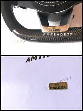 BRABUS emblem Steering Wheel Insert Mercedes Benz G class W463 W212 W204 W222
