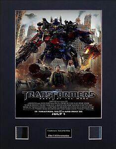 Transformers - Dark of the Moon Version 2 Photo Film Cell Presentation