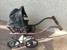 Beautiful ANTIQUE Vintage BABY DOLL Carriage Buggy Stroller, Victorian Look