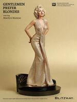 Blitzway Marilyn Monroe 1/4 Superb Scale Statue - Gentlemen Prefer Blondes 1953