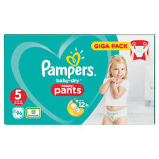 Pampers Baby Dry Nappy Pants Size 5 Pack of 96 Junior Giga Pack 11-18kg Diaper