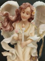 "Seraphim Classics Heaven On Earth Angel Maria Guided by Faith 6"" Tall  84902"