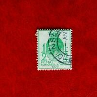 GB 1929 u.p.u. KGV POSTAGE STAMP 1/2d used