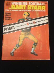 """1971 """"Winning Football"""" by Green Bay Packer Bart Starr from MATTEL"""