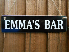 PERSONALISED ANY NAME SIGN MOM DAD CHRISTMAS GIFT PUB HOME BAR GIFT SIGN NEW