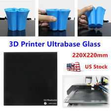 US ANYCUBIC I3 Mega Ultrabase 220x220mm Glass Plate Build Surface 3D Printer