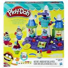 Play Doh Ice Cream Castle Modeling Compound Colors Playset New Kids Toy Gift