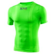T SHIRT MANICA CORTA TS1C COLOR VERDE FLUO SIXS TG M NEW 2015