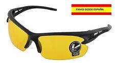 Gafas De Sol UV400 Nocturna Conducción Automovilistas Pesca Cacería Bici Deporte