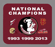 Item#435 Florida State Championship Football Banner Mouse Pad