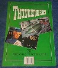 1993 *** 20 COLOUR THUNDERBIRDS POSTCARDS *** IN BOOKLET TB 1 2 3 4 5 FAB1 TRACY