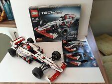 Lego Technic 42000 F1 Grand Prix Racer Race Car RARE 100% complete