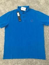 STONE ISLAND GENTS DESIGNER POLO TOP BNWT LARGE SLIM FIT 100%GENUINE RRP£120