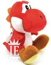 SUPER MARIO BROS. YOSHI ROSSO PELUCHE 17CM PUPAZZO plush doll nintendo red rouge