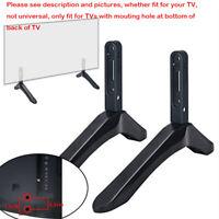 Metal 32-65''  LCD TV Screen Stand Leg Mounting Bracket Base Holder