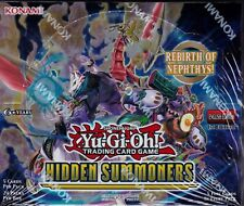 Yu-Gi-Oh! Hidden Summoners sealed 1st Edition booster box 24 packs of 5 cards