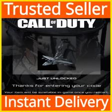 Call of Duty Modern Warfare COD / Fighter Jet Weapon Charm DLC / GLOBAL
