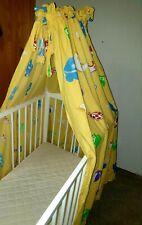 Babybett Himmel Betthimmel Babybettausstattung Gelb