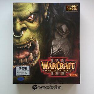 WarCraft III 3: Reign of Chaos (Big Box) [2002, Korea, PC] Blizzard