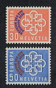 CKStamps: Switzerland Stamps Collection Scott#376 377 Mint NH OG