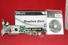 PNY Nvidia GeForce 8400GS 512MB DDR2, PCI Graphics Card (VCG84512SPPB, 145421)