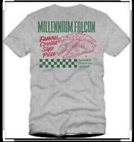 Star Wars Celebration Exclusive Chicago 2019 Milennium Falcon Pizza-Shirt M L XL
