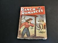 Ranch Romances Magazine Pulp Fiction Western 2nd August 1957. RARE.