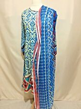 Pakistani Designer Lawn Top/Shirt/Kurti with Scarf