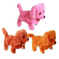 Fashion Walking Barking Funny Electric Short Dog Toys Electric Dog Moving Puppy
