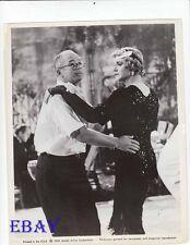 Billy Wilder dances w/Jack Lemmon in drag VINTAGE Photo Some Like It Hot