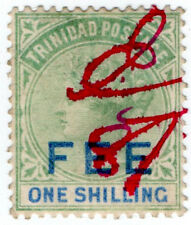 (I.B) Trinidad & Tobago Revenue : Fee 1/-
