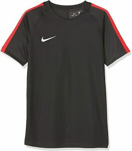 Nike Kinder Dry Squad 17 T-Shirt, Anthracite/Siren Red/Weiß, L