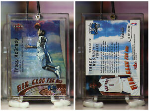 2000-01 Fleer Ultra Air Club For Men Platinum Tracy McGrady 037/100