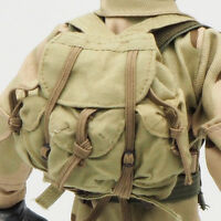 1/6 Scale Uniforms Outfits Coveralls BackPack Desert Bag 12inch Action Figures